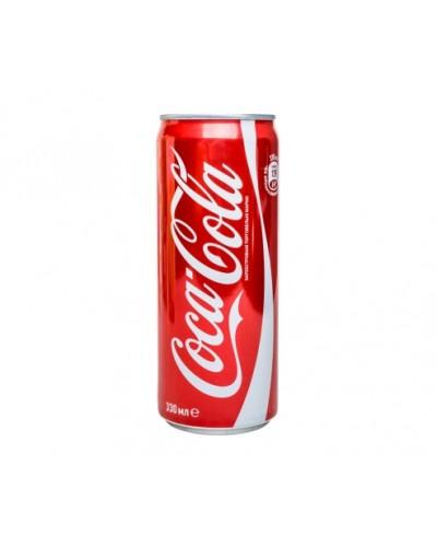 Кока-кола 0,33 (банка)
